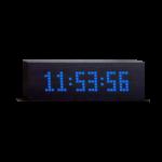reloj despertador con mensaje